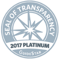 Seal of Transparency 2017 Platinum Summerhouse Houston