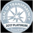 Seal of Transparency 2017 Platinum Summerhouse Houston